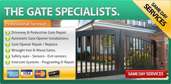 gate service Stanton ca